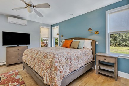 East Orleans Cape Cod vacation rental - Main bedroom with King size bed and en-suite bath