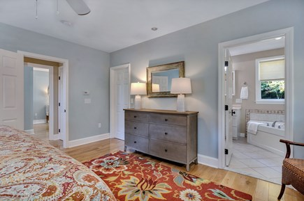 East Orleans Cape Cod vacation rental - Main bedroom with walk in closet