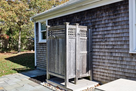 East Orleans Cape Cod vacation rental - Outdoor shower