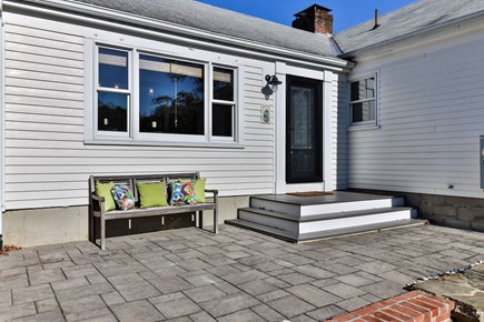 East Orleans Cape Cod vacation rental - Sunny side entrance to family room