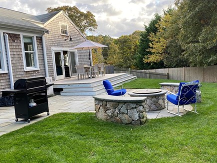 East Orleans Cape Cod vacation rental - Awesome deck, patio, fire pit and yard