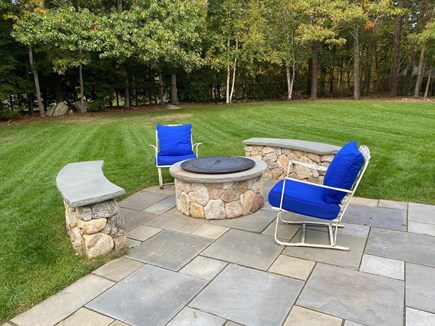 East Orleans Cape Cod vacation rental - Enjoy the fabulous fire pit and gorgeous yard
