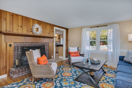 East Orleans Cape Cod vacation rental - Comfortable living room.