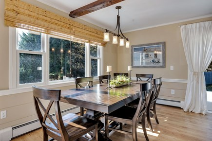 East Orleans Cape Cod vacation rental - Large dining table.