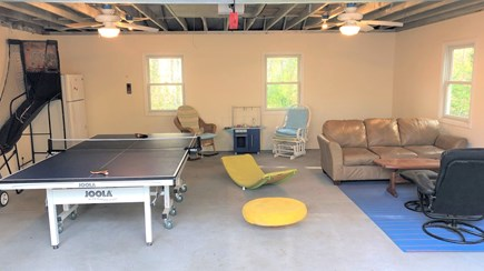 Eastham Cape Cod vacation rental - Finished garage with playroom