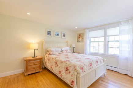 Eastham Cape Cod vacation rental - Bed #1: Master bedroom with queen bed on first floor