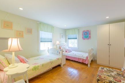 Eastham Cape Cod vacation rental - Bed #4: Second floor double twin bedroom