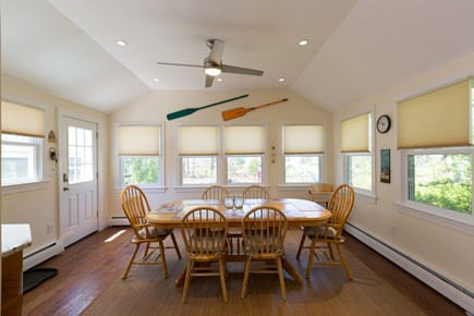 Eastham Cape Cod vacation rental - Open kitchen/dining area
