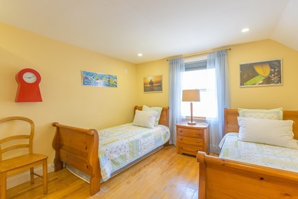 Eastham Cape Cod vacation rental - Bed #5: Second floor double twin bedroom