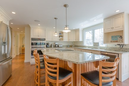 Eastham Cape Cod vacation rental - Gourmet kitchen with built in appliances and granite counter tops