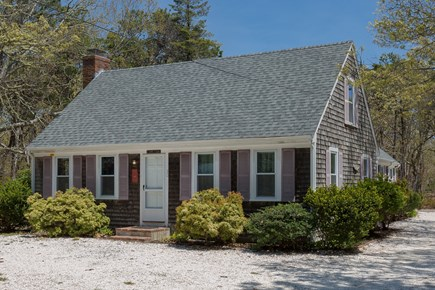 Eastham Cape Cod vacation rental - The house is located in a quiet setting on a sandy side road