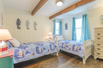 Eastham Cape Cod vacation rental - Bedroom #2: Double twin beds on the first floor
