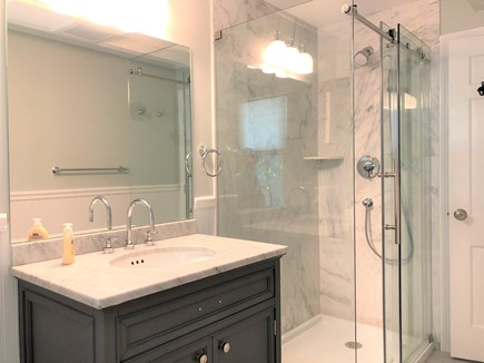 Eastham Cape Cod vacation rental - Fully renovated bathroom with walk-in shower