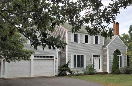 Eastham Cape Cod vacation rental - The house is located on a large 3/4 acre lot