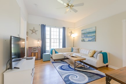 Eastham Cape Cod vacation rental - Family room with Smart UHD TV, YouTube TV, Netflix and Disney+