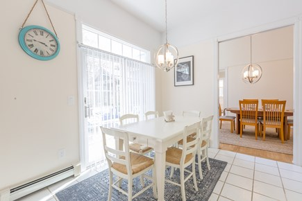Eastham Cape Cod vacation rental - Eating corner in the kitchen