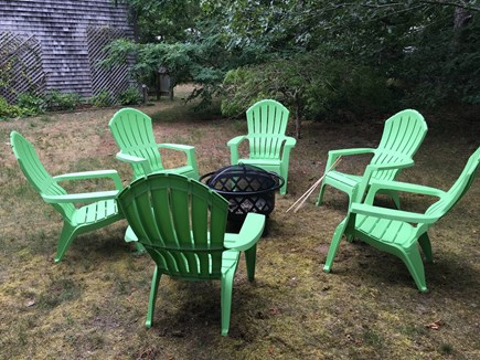 Eastham Cape Cod vacation rental - Firepit and outdoor shower