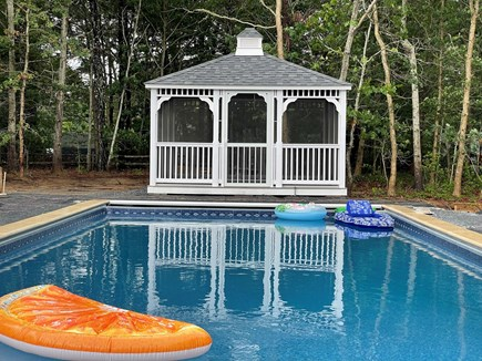 Eastham Cape Cod vacation rental - Large 16x40 in-ground pool and gazebo