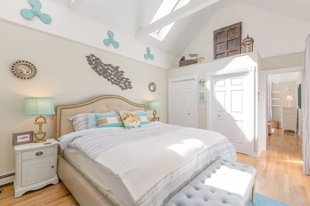 Eastham Cape Cod vacation rental - Bedroom #1: King bed on the first floor