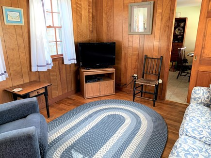 Harwich Port Cape Cod vacation rental - Den with TV