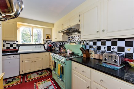 West Barnstable Cape Cod vacation rental - Look at that vintage rebuilt gas stove!!