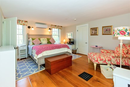 West Barnstable Cape Cod vacation rental - Master bedroom on second floor with Queen and en-suite bath