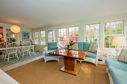 West Barnstable Cape Cod vacation rental - Newer fabulous four season room with large HD TV !