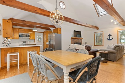 Eastham Cape Cod vacation rental - Open concept living makes family vacations a joy