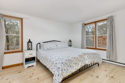 Eastham Cape Cod vacation rental - Master bedroom upstairs, king, w/ ensuite bath