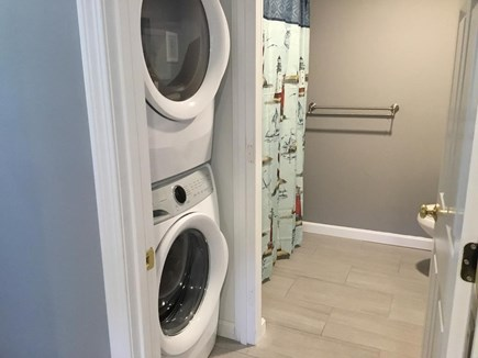South Yarmouth Cape Cod vacation rental - Newly Remodeled additional full bath with laundry