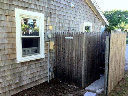 South Yarmouth Cape Cod vacation rental - Enclosed outdoor shower