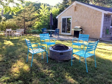 South Yarmouth Cape Cod vacation rental - Large backyard for bbq's
