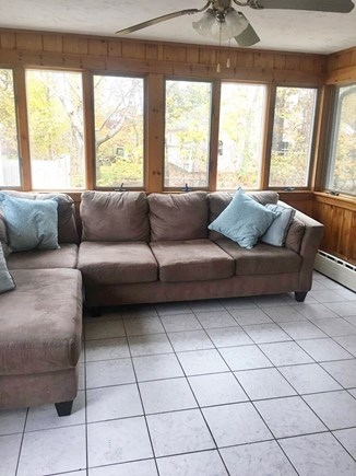 Dennis Cape Cod vacation rental - Sunroom- great place for your morning cup of tea or coffee!