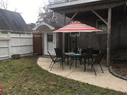 Dennis Cape Cod vacation rental - Outside spots for meals or just relaxing.