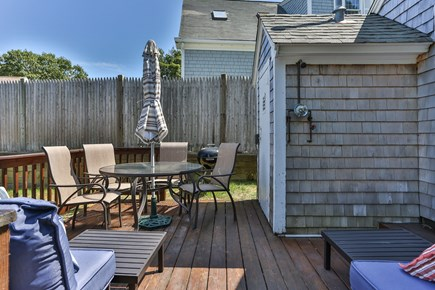 Dennis Port Cape Cod vacation rental - Outdoor shower to rinse off after the beach.