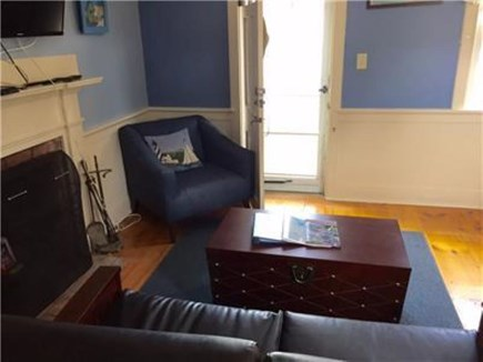 Dennis Port Cape Cod vacation rental - Living room area, flat screen cable television