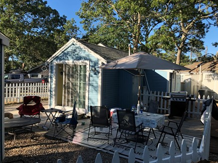 Dennis Port Cape Cod vacation rental - Back Outdoor living Area (outdoor space)