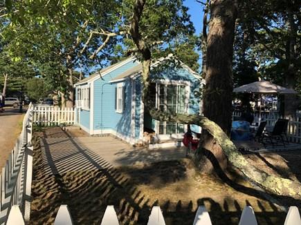 Dennis Port Cape Cod vacation rental - Side/Front Cottage