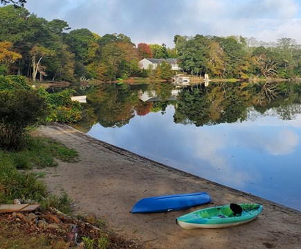Falmouth, on Fresh pond Cape Cod vacation rental - Easy access to water. Fresh pond is very clean.  Great swimming.