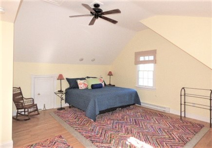 Harwich Cape Cod vacation rental - Master bedroom over the garage with private full bath