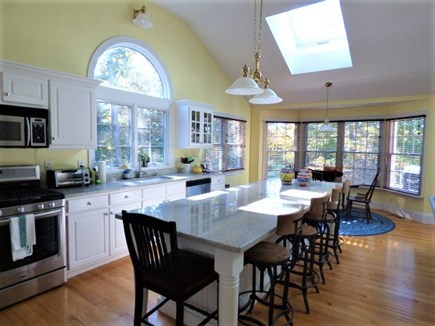 Harwich Cape Cod vacation rental - Large eat in kitchen