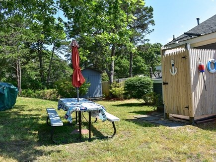 Dennis Port Cape Cod vacation rental - Large side yard