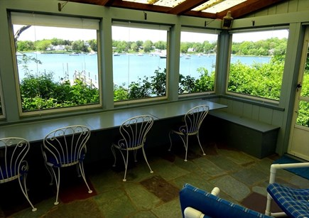 Orleans Cape Cod vacation rental - Amazing views from the screened porch