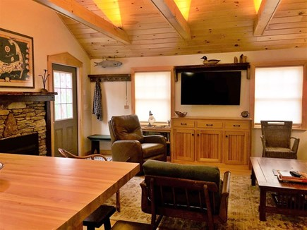 West Harwich Cape Cod vacation rental - Beamed ceilings