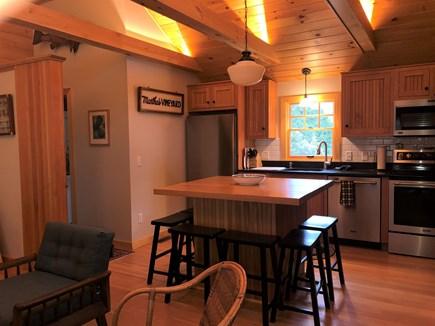 West Harwich Cape Cod vacation rental - Kitchen island