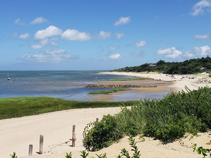 Brewster Cape Cod vacation rental - The view from one of many local public beaches in Brewster.