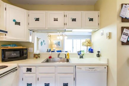 Brewster Cape Cod vacation rental - A comfortable kitchen.  To be updated in the winter of 2021.