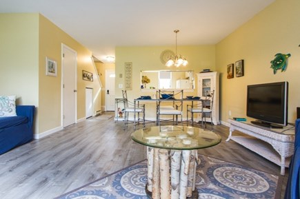 Brewster Cape Cod vacation rental - Living Area with Dining Room