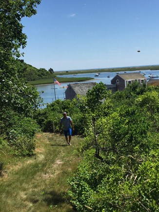 Chatham Cape Cod vacation rental - Path to the oyster shacks
