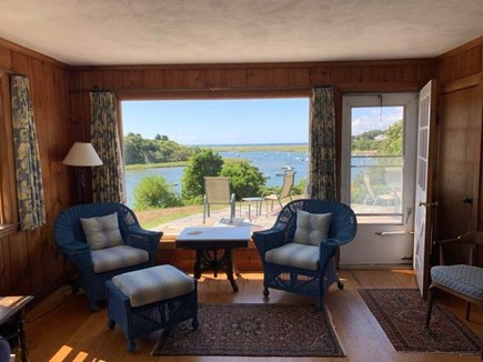 Chatham Cape Cod vacation rental - View out the picture window in living room